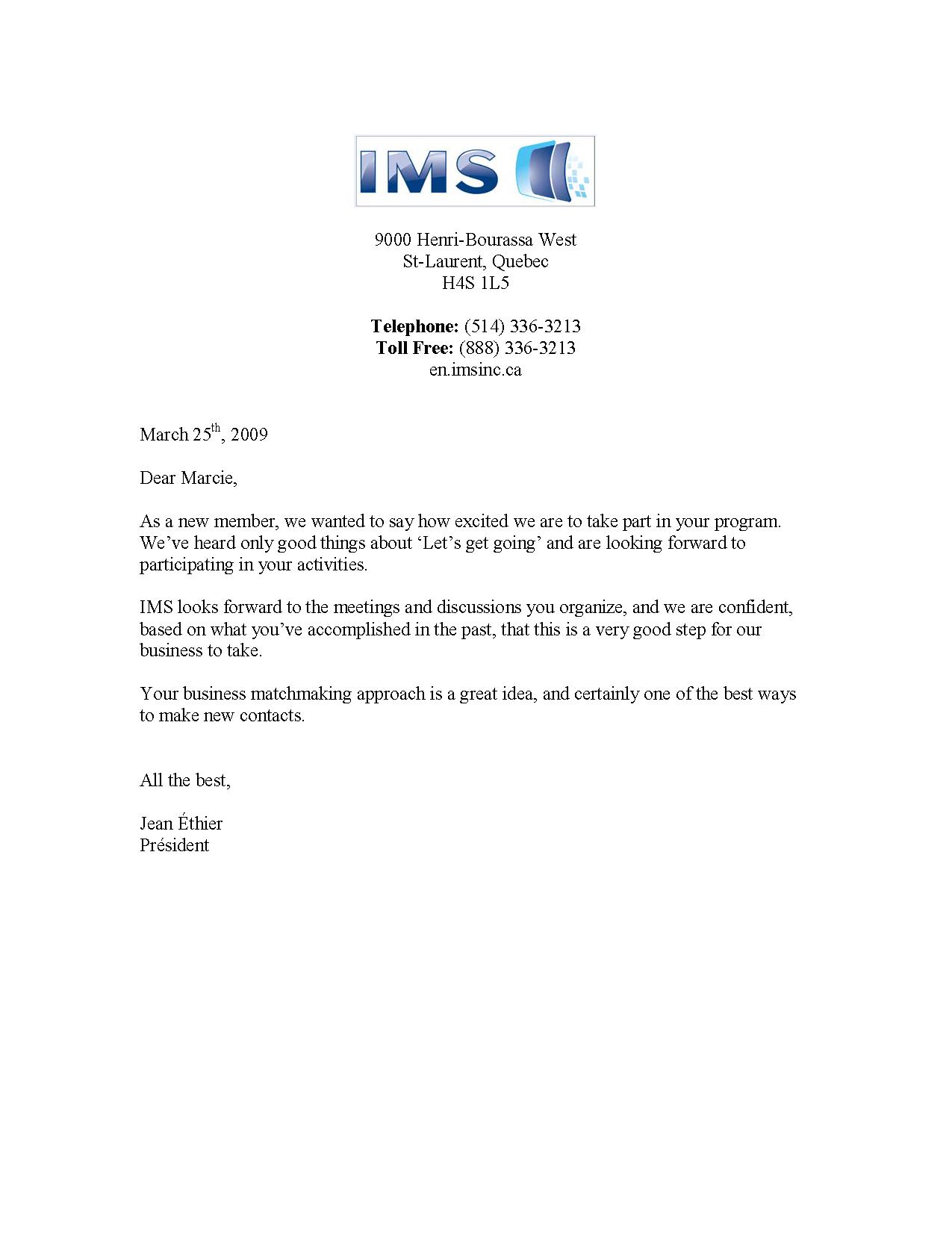 IMS Testimonial _2009-03-27